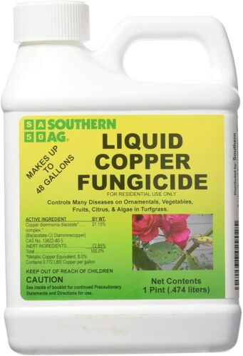 Southern Ag Liquid Copper Fungicide 16 oz. (Pint)