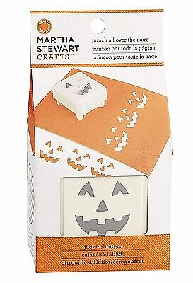 The Punch Halloween (Martha Stewart Crafts JACK-O-LANTERN Punch all Over the Page for Halloween)