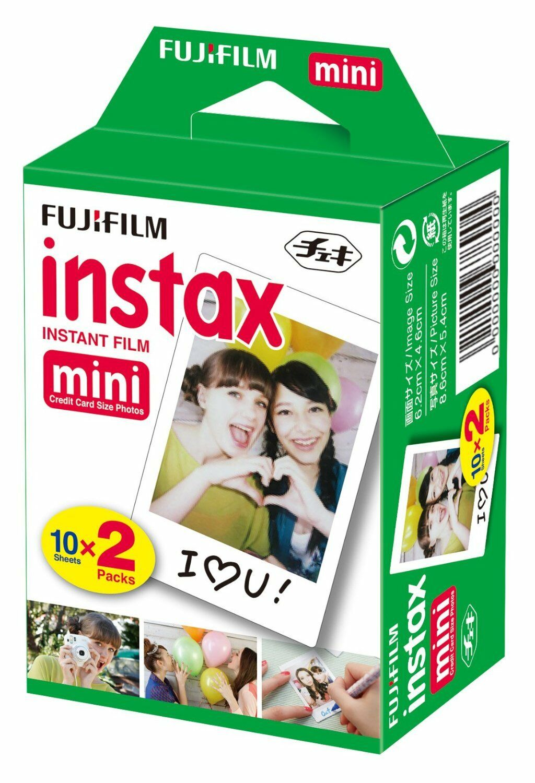 40 Prints Fujifilm Instax Instant Film for Fuji 9 8 50s 7s 90 & Pol 300 Camera