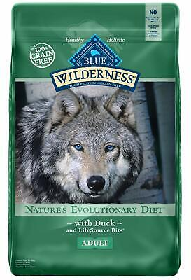 Blue Buffalo Wilderness High Protein Grain Free, Natural Adult Dry Dog Food, Duc