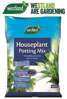 Westland Houseplant Potting Compost Mix and Enriched with Seramis 4 L