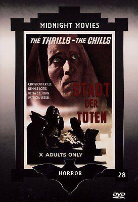 Stadt der Toten ( Horrorfilm Hartbox ) mit Christopher Lee, Patricia Jessel