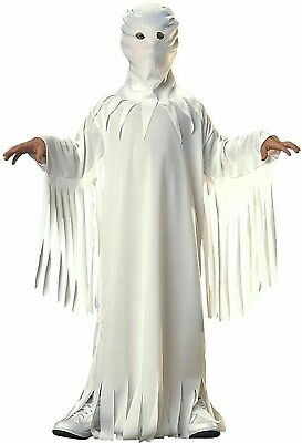 Fantasma Niño Niña Blanco Fantasma Halloween Disfraz Traje de Niño (Halloween Fantasma Disfraz)