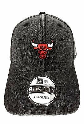 Chicago Mini (Numerated, Chicago Bulls NBA New Era 9TWENTY RUGGED MINI 920 BLK Cap 2018/19 1SZ)