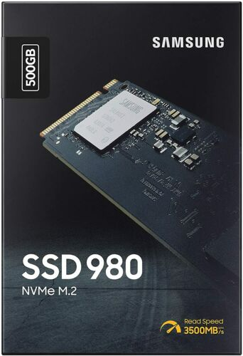 Samsung 980 SSD 500GB - M.2 NVMe Interface Internal Solid State Drive - 2021 New