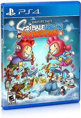 PLAYSTATION 4 SCRIBBLENAUTS SHOWDOWN BRAND NEW VIDEO GAME