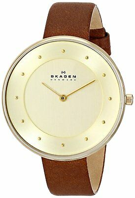 Skagen Women's SKW2138 'Gitte' Brown Leather Watch