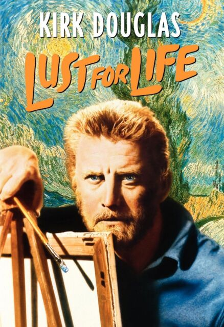 LUST FOR LIFE (1956 Kirk Douglas) english cover -  DVD - UK Compatible - sealed