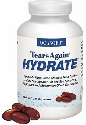 OCuSOFT Tears Again HYDRATE SoftGels, 120 count