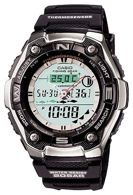 Casio Casio Sports Gear Aqw 101J 1Ajf For Fishing Mens Watch Free Shipping New