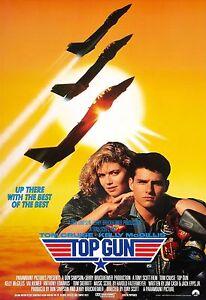 A3 - TOP GUN MOVIE Film Cinema wall Home Posters Print #21