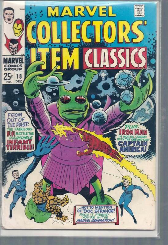 MARVEL COLLECTORS ITEM CLASSICS #18