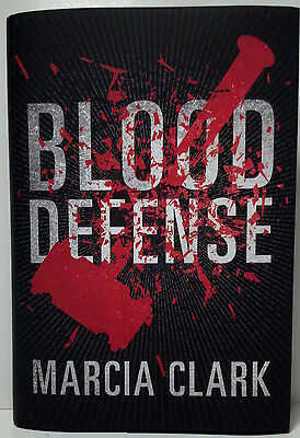 Blood Defense  Marcia Clark Hardcover Book
