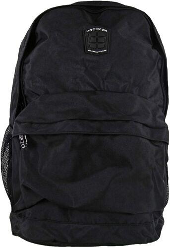 6 Pack Fitness Motivator 300 Backpack Meal Prep Management System (Stealth)