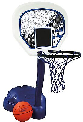 SwimWays Poolside Basketball Hoop Pool Water Game Set with Ball | 12265