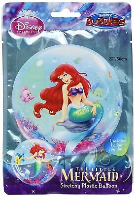 Ariel Balloons (Disney Ariel Little Mermaid Bubble Plastic Balloon Birthday)