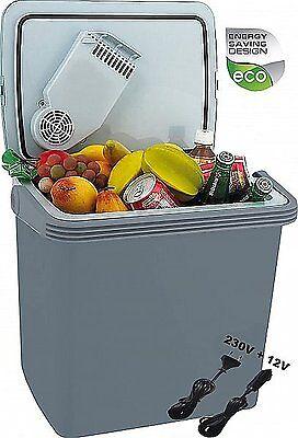 32 Liter Kühlbox für Auto und Steckdose 12v 230v Kühltasche 2in1 Thermobox NEU