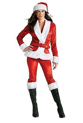 Sexy Ms Santa Claus Pants Set Christmas Adult Costume - Ms Claus Costumes