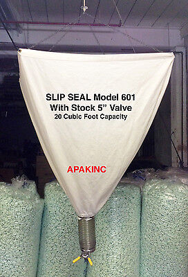 Slip Seal Model 601 20 Cubic Foot Loose Fill Packing Peanut Dispenser