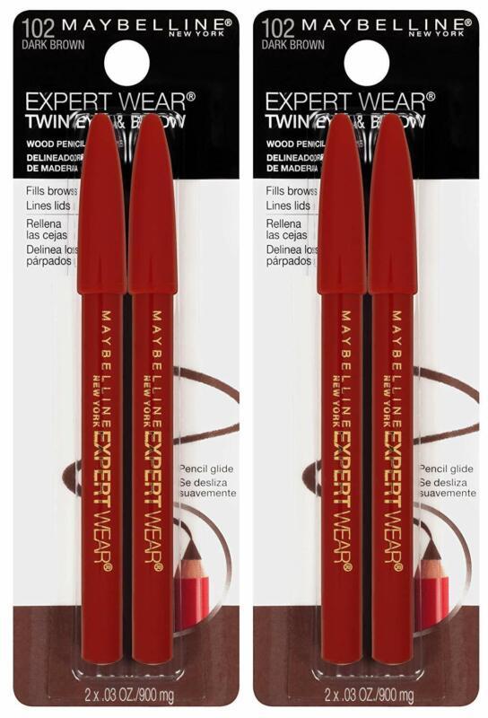 Maybelline New York Expert Wear Twin Brow Eye Pencils Makeup