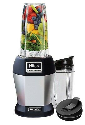 Nutri Ninja Pro 900W Conscientious Blender, Silver (Certified Refurbished)