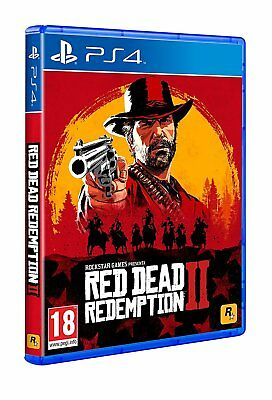 RED DEAD REDEMPTION 2 PS4 PAL CD NUEVO PRECINTADO CASTELLANO ESPAÑOL FISICO