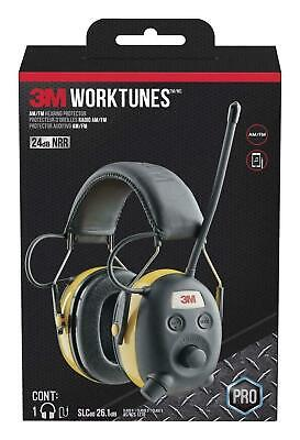 3m Worktunes Hearing Protector With Amfm Radio