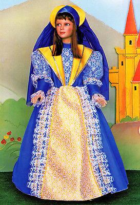 Kostüm von Karneval Mädchen Pegasus Angelica Gr. 5/7 Alter