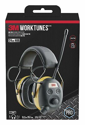 3m Worktunes Hearing Protector Headset With Amfm Digital Radio Noise Canceling
