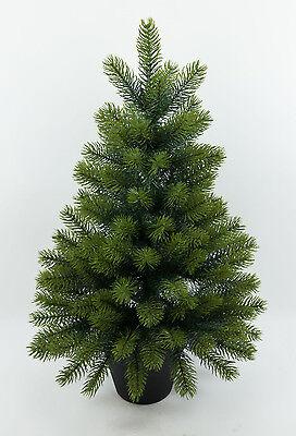 Edel-Tannenbaum Luxus III 65cm GA künstlicher Weihnachtsbaum Spritzguss