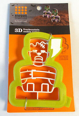 D Halloween (Frankenstein 3D Halloween Cookie Cutter )