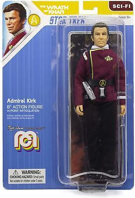 "Admiral Kirk - Mego 8"" Action Figure - Star Trek Wrath of Khan"
