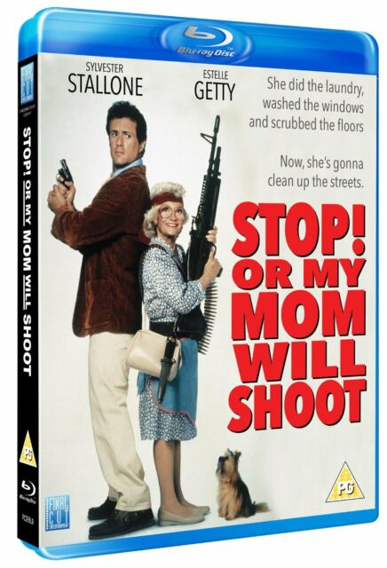 Stop! Or my mom will Shoot: New Blu-Ray - Sylvester Stallone, Estelle Getty