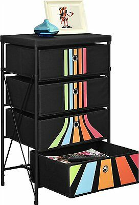 Kid Toy Organizer Storage Drawer 4 Bin