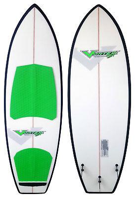 Ronix Koal Thruster Vortex - 5ft 7in Wakesurf Board- 96424 F - NEW BLEM