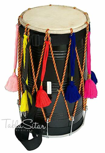 SAI Musical Natural Punjabi Bhangra DHOL + FREE BAG