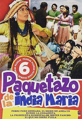 LA INDIA MARIA DVD 6 Peliculas Comadrita OK Mister Pancho La Presidenta y mas..