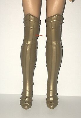 DC Comics Super Hero Wonder Woman Hidden Sword Doll Outfit Gold Boots ONLY NEW - Super Hero Outfit