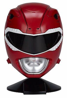 Power Rangers Red Ranger Helmet Full Scale Mighty Morphin Power Rangers New