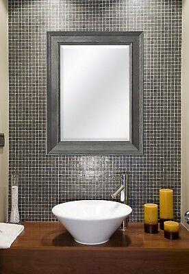Mirror For Bathroom Modern Vanity Wall Mount Framed Beveled