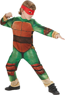 Turtles TMNT Classic Kinder Karneval Fasching Kostüm 104-128
