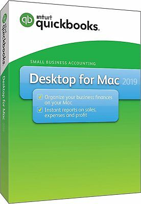 QuickBooks Desktop For Mac 2019 [Mac Disc] for sale  Shipping to South Africa