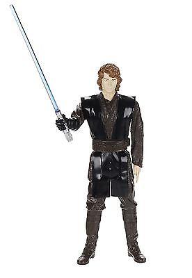 Star Wars 12 Inch Anakin Skywalker w/Lightsaber Figure Hasbro 2013 NIB 12in.
