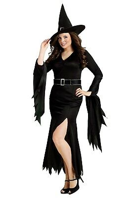 Gothic Witch Plus Size Adult Costume, (Gothic Plus Size Kostüme)
