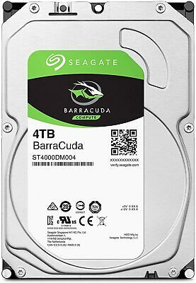 HARD DISK 3,5 SEAGATE BARRACUDA 4TB SATA3 256MB 4000GB ST4000DM004 5400rpm