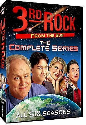 3Rd Rock From The Sun  The Complete Series  Dvd  2013  17 Disc Set