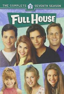 FULL HOUSE - COMPLETE SEASON 7 - DVD - UK Compatible - New & sealed