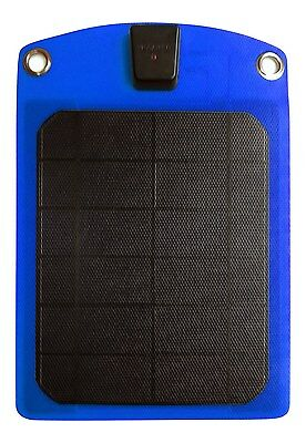 Platinum Choice Products -Solar Phone Charger Blue-Best Outdoor Accessory