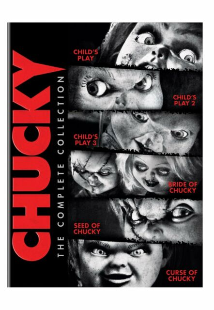 CHUCKY :THE COMPLETE COLLECTION 1-6 movies -  DVD - REGION 1  sealed