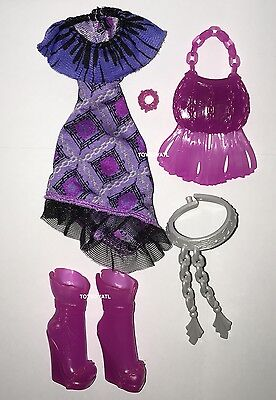 Monster High First Day of School Ari Hauntington Doll Outfit Dress Shoes New